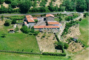 Aerial photo. First Casa Antelo 5 & garden