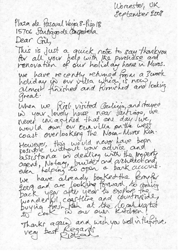 Personal Reference Letter For Housing from greenspainholidays.com